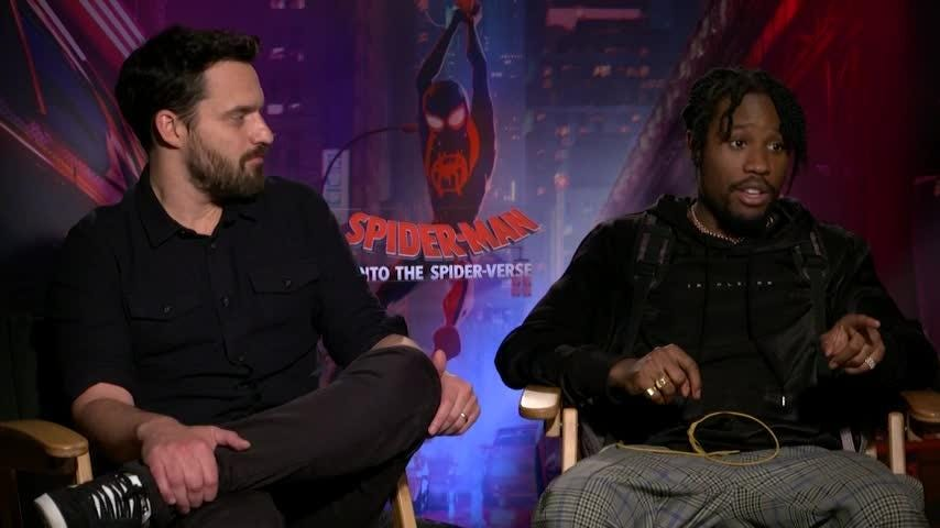 Shameik Moore wants his animated Spider-Man to fight Venom