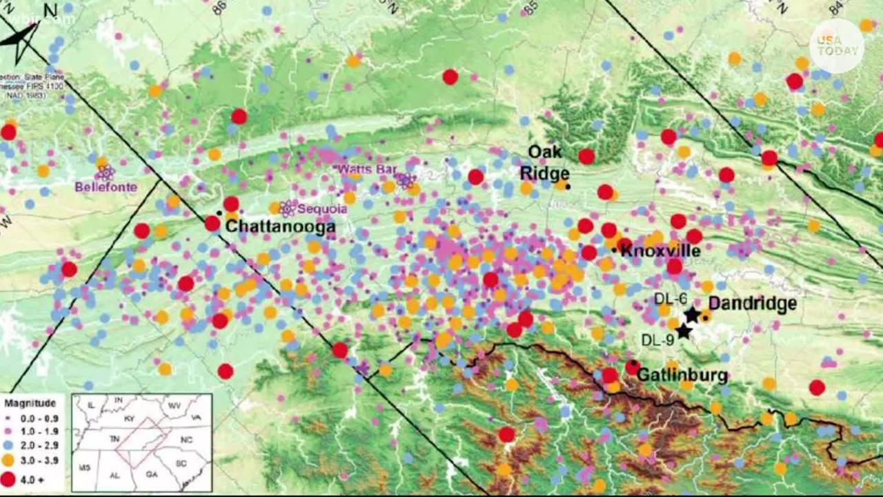 Earthquake with magnitude 4 4 hits Tennessee, Georgia