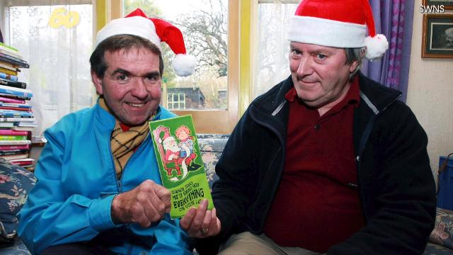 12 Men Of Christmas.Men Send Each Other The Same Christmas Card For Over 40 Years