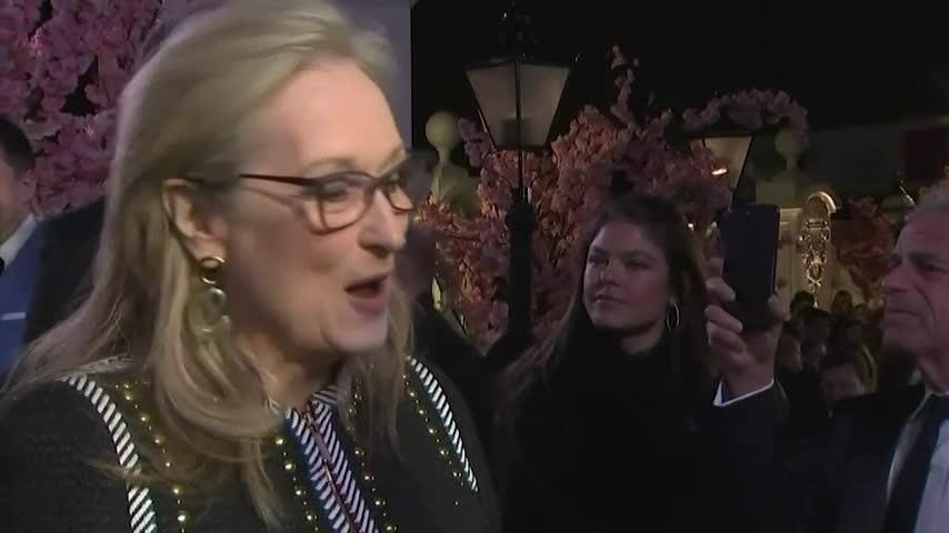 Streep jokes about top billing in next 'Mary Poppins'