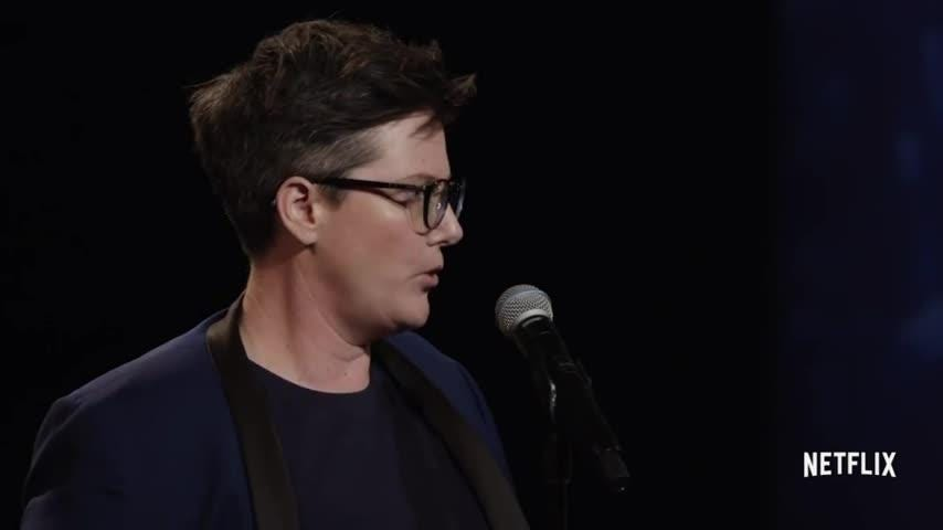 """In 2018, Hannah Gadsby broke through with genre-busting stand-up concert, """"Nanette."""" (Dec. 14)"""