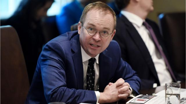 President Donald Trump picks OMB director Mick Mulvaney to replace departing White House chief of staff John Kelly.