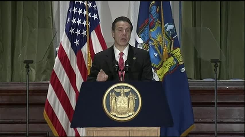 New York Gov. Andrew Cuomo's agenda for 2019 puts the legalization of recreational marijuana and fixing New York City's crumbling subway system among his top priorities. (Dec. 17)