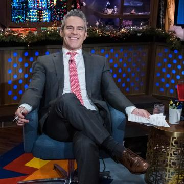 Andy Cohen responds to 'vile' Kathy Griffin diss: 'She's made up a lot'