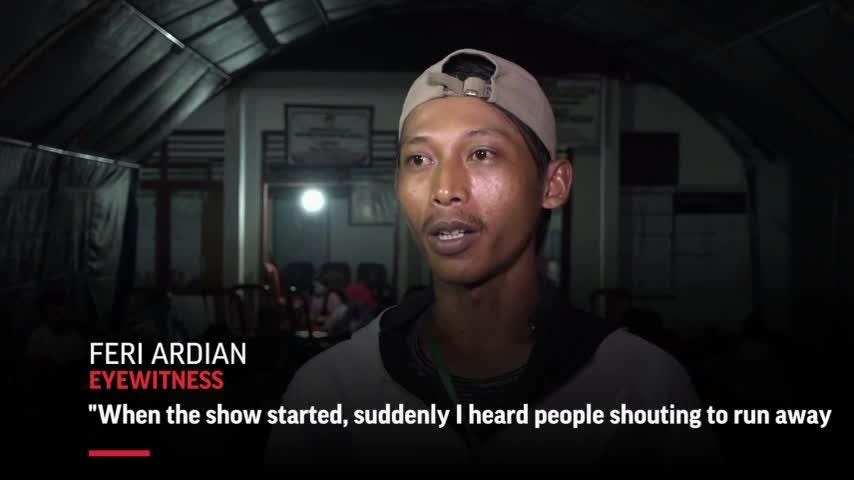 Race to find survivors after Indonesia tsunami