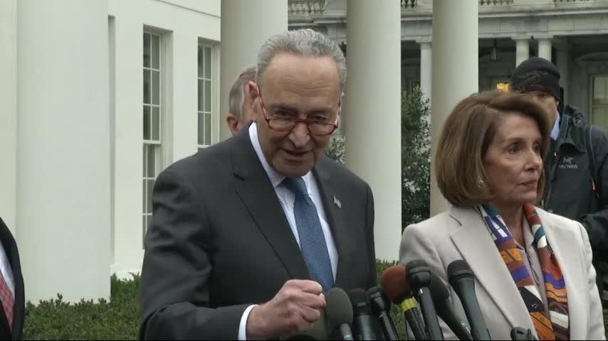 White House shutdown talks yield no breakthroughs