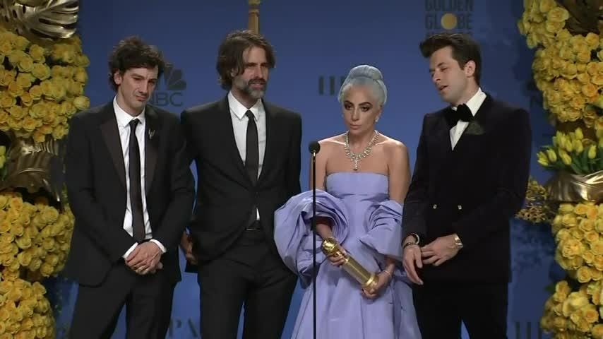 Lady Gaga has 'rager' after the Golden Globes, downing Fruity Pebbles cereal in bed