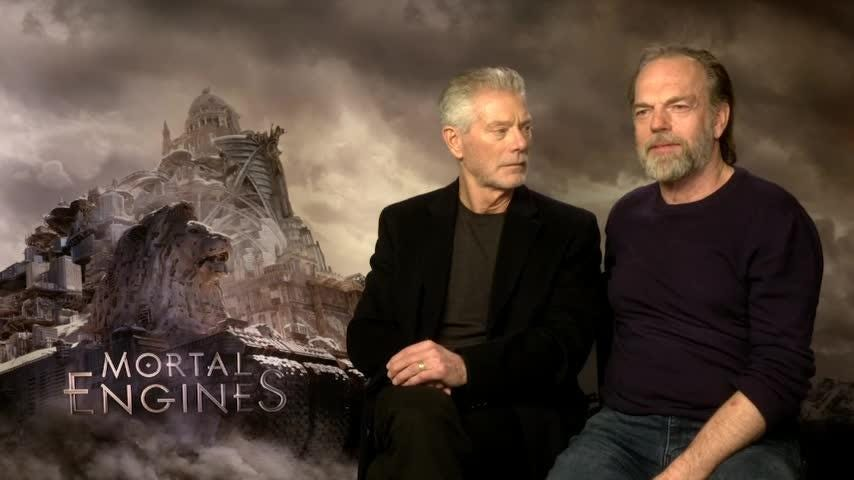 Truth or Not? My First Award: Stephen Lang & Hugo Weaving
