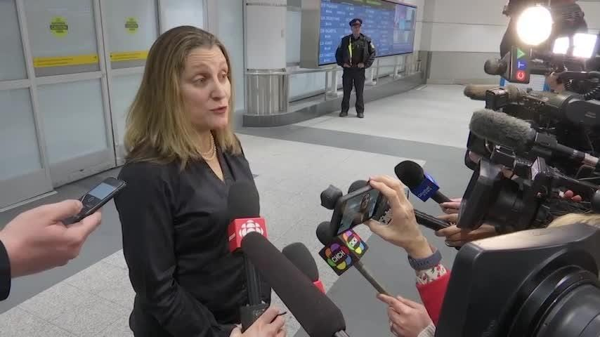Canadian FM: glad to help Saudi woman in danger