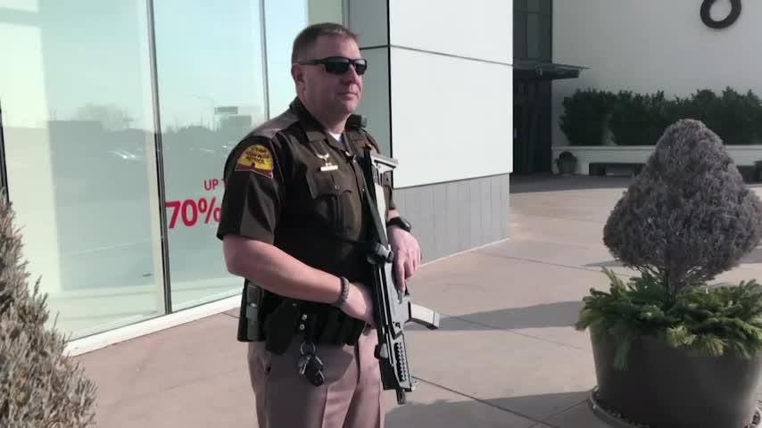 Two wounded in Utah mall shooting