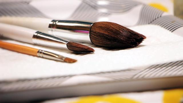 Get your makeup brushes grime-free.