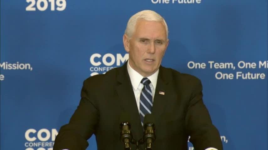 Mike Pence says 'ISIS has been defeated'