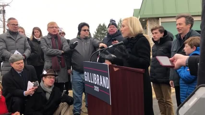 Kirsten Gillibrand announces 2020 run