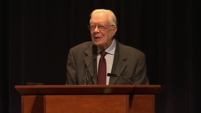 Jimmy Carter marks 40 years of US-China relations