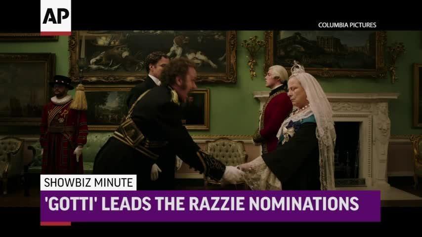 ShowBiz Minute: Prince Philip, Razzies, US Box Office