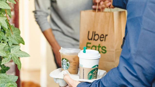Starbucks teams up with Uber Eats to bring coffee to your door