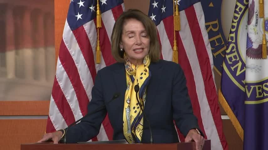 Nancy Pelosi: Glad State of the Union issue has been 'put to rest'