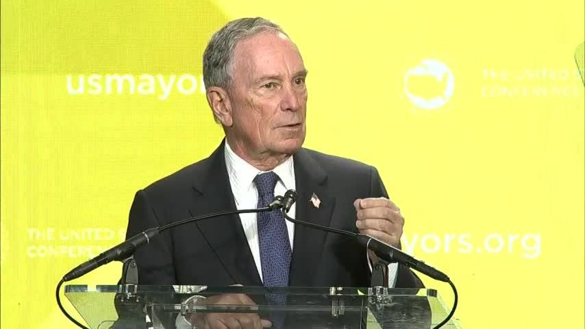 Michael Bloomberg blasts Trump over shutdown
