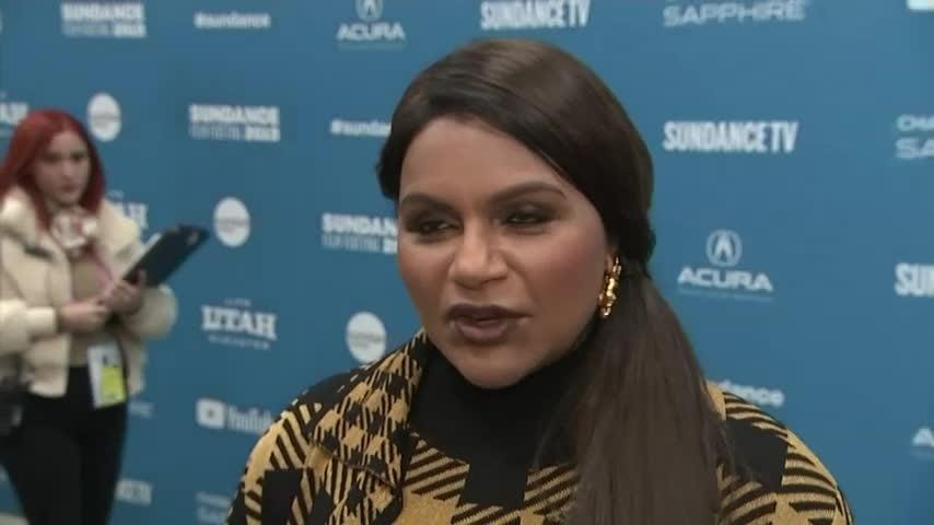 Mindy Kaling brings comedy 'Late Night' to Sundance