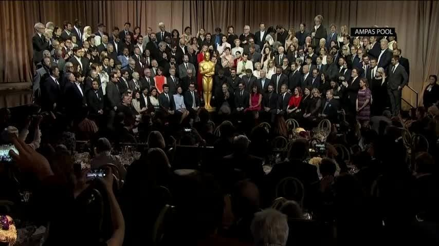 Oscar nominees including Barry Jenkins and Regina King digest the major Oscars event before The Big Show. (Feb. 5)