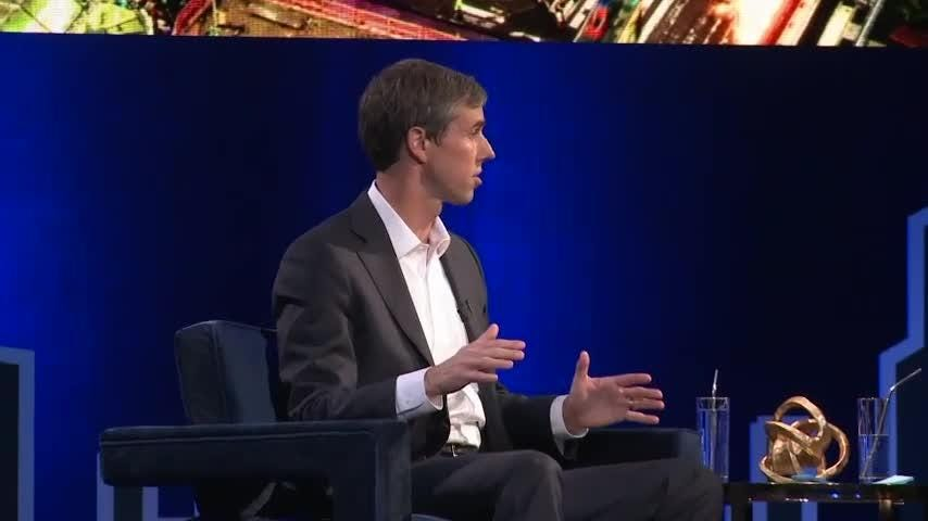 Former Texas Congressman Beto O'Rourke broke months of near silence about his political future on Tuesday during a taping of a show with Oprah Winfrey in New York. (Feb. 5)