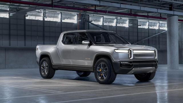 Rivian makes electric pickups, and is coming for Tesla