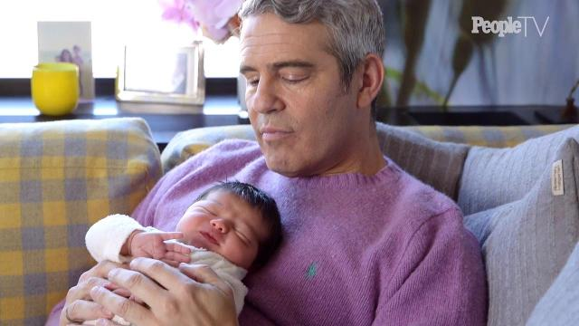 Andy Cohen claps back at dad shamers after his dog rips apart newborn's toy