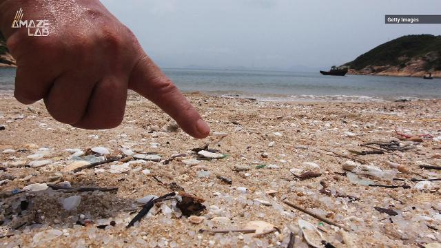 """Nurdles, also known as """"mermaid tears,"""" are actually small plastic pellets used to make plastic items."""