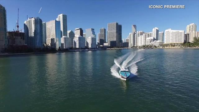 The actual boat used in the 1980's TV series Miami Vice, is for sale. Buzz60's Sam Berman has the full story.