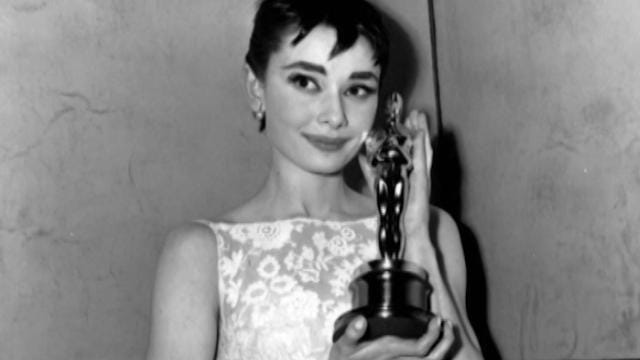 You might remember the best looks from last year's Academy Awards, but have you seen Audrey Hepburn's iconic Oscar look?