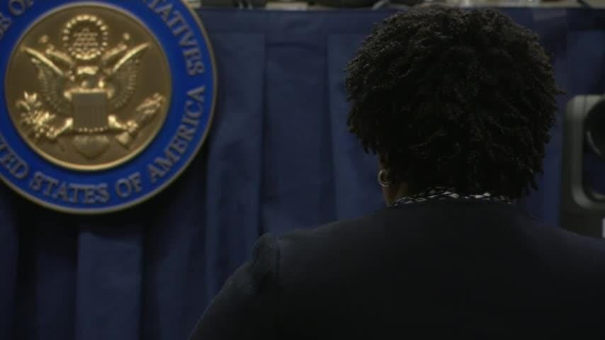 Former Georgia gubernatorial candidate Stacey Abrams is telling a congressional committee about voting problems in the state during the November 2018 election. (Feb. 19)