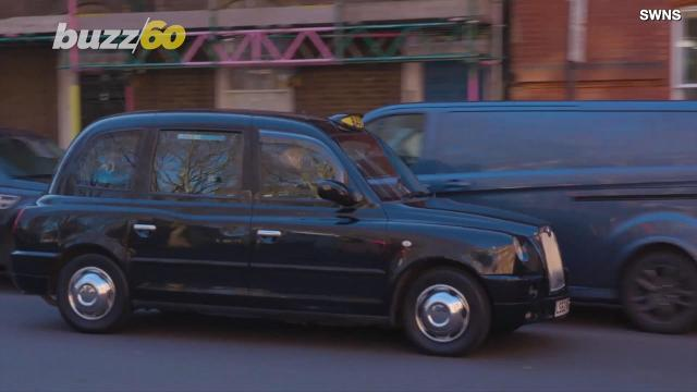 The Baxi Taxi chauffeurs folks around London for free and it is not a ride they will soon forget!