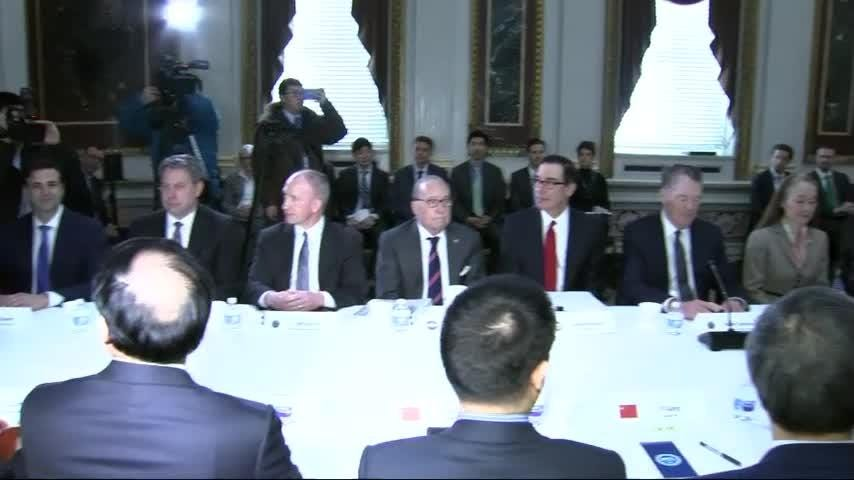 US and China resume talks in trade standoff