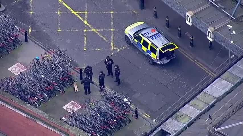 Police examine 3 explosive devices in London