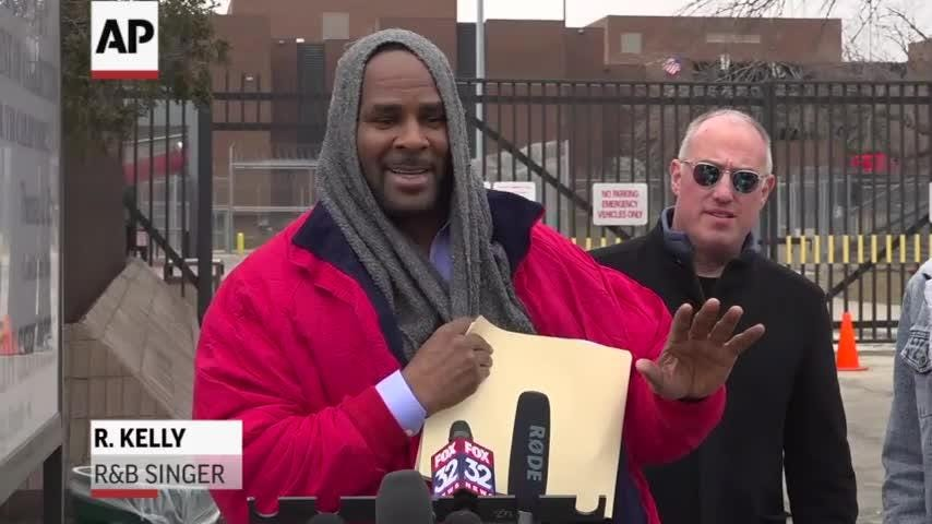 R&B singer R  Kelly released from jail