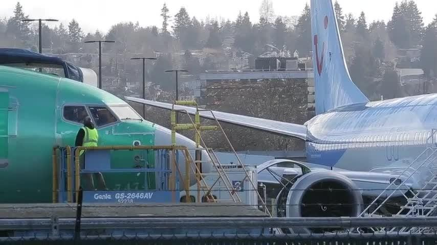 Boeing continues work on 737 Max after grounding