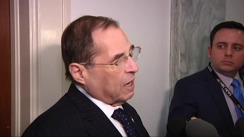 Nadler: Whitaker & Trump may have discussed Cohen