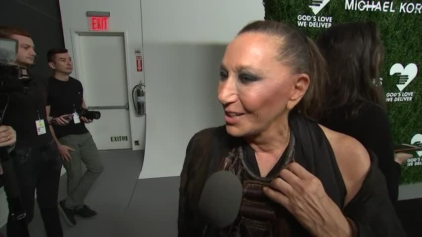 Donna Karan hated school, launched her fashion career in high school
