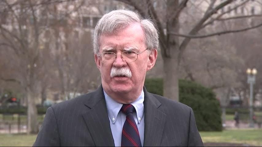 New Zealand mosque shooting is disturbing, says John Bolton
