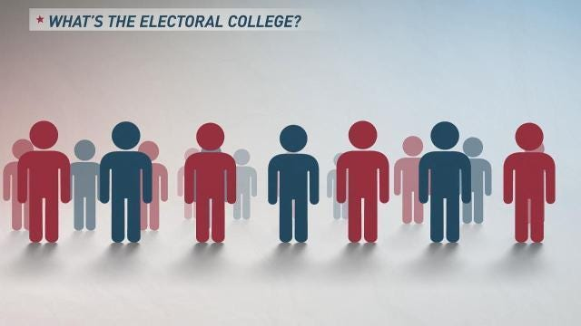Elections are confusing. Learn what the Electoral College is in under a minute.