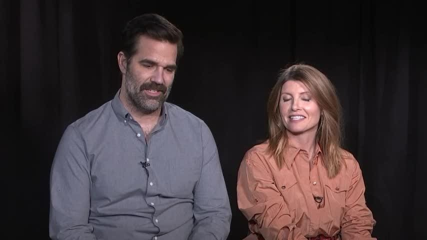 """Show creators and actors Rob Delaney and Sharon Horgan talk about the fourth and final season of """"Catastrophe"""" on Amazon. (March 19)"""