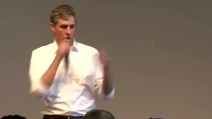 Beto O'Rourke speaks at Penn State