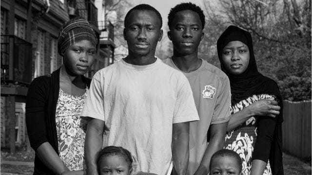 A New Home in America-Mohammad Diabate
