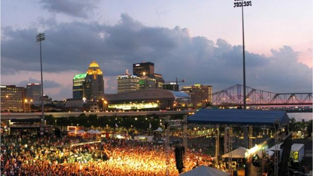 How to get to (and from) Forecastle Festival