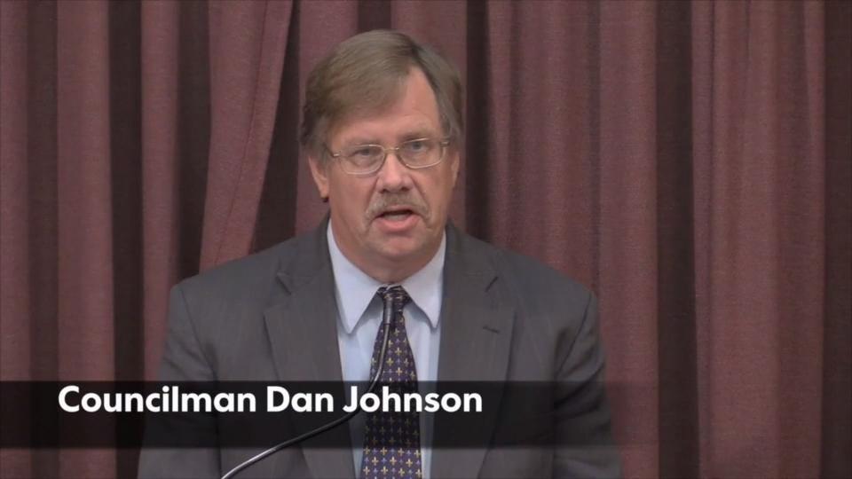 Councilman Dan Johnson and attorney address media   Full video