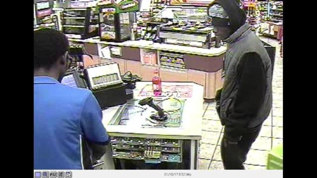 Speedway robbery surveillance video