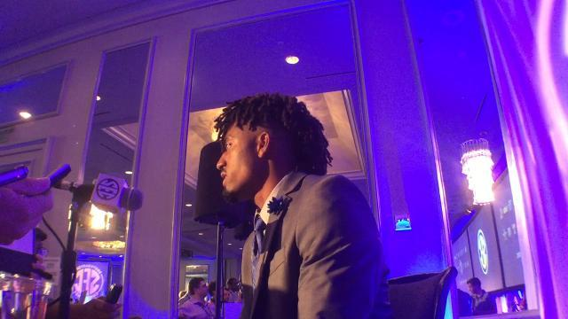 UK QB Stephen Johnson at SEC Media Days