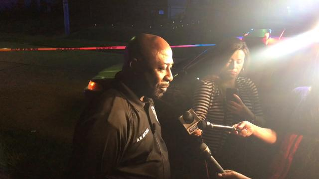 LMPD spokesman Dwight Mitchell says two men were shot and one died after an argument led to a shooting early Tuesday morning in Louisville's Hazelwood neighborhood.