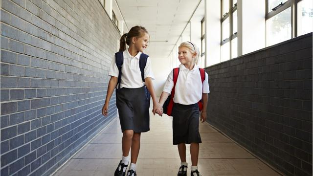 School uniforms can make getting dressed each morning a breeze, but the initial investment to purchase each piece can feel more like a hurricane on your budget. Fortunately, there are plenty of ways to save on uniforms this school year. Here are six useful tips - from shopping consignment shops to clothing assistance programs - that will help you save some green as you shop for back to school.