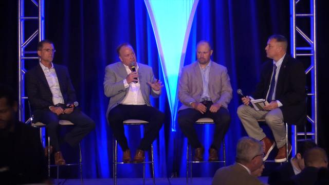 Highlights from UK football luncheon in Louisville